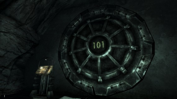 The Vault 101 door