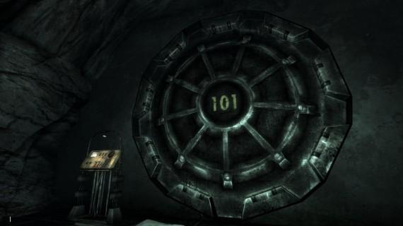 The Vault 101 door