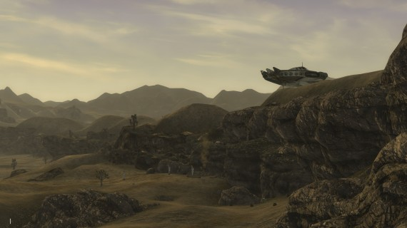 "The ""Wild Wasteland"" aliens in New Vegas."