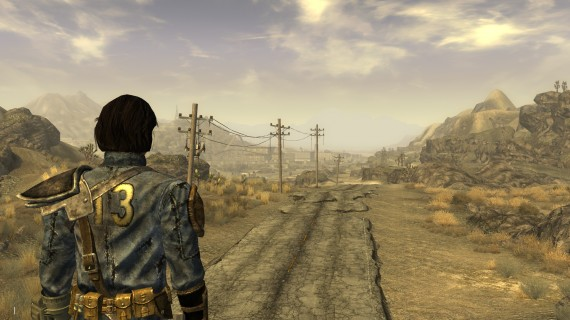 The long road through the Mojave